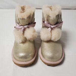 UGG Gita Bootie Gold Girls Boots